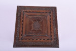 A 19th century square Hoshiarpur inlaid table