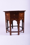 A large 19th century Hoshiarpur table