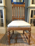 Late 19th century maple chair