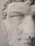 Plaster mask bust of Lucius Versus