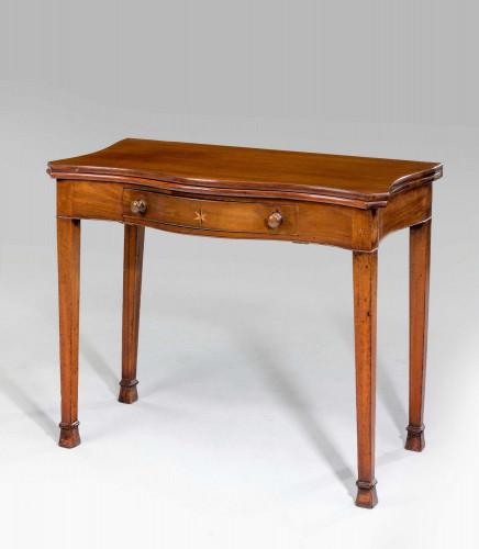 Chippendale Period Serpentine Tea Table