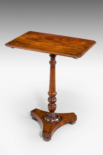 Regency Period Mahogany Tilt Table.