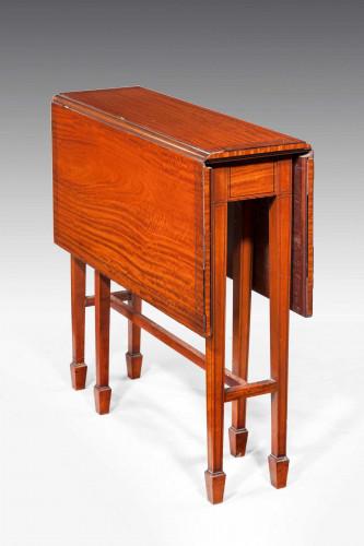 Edwardian Period Satinwood Sutherland Table.
