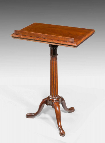 Chippendale Period Mahogany Reading/Writing Table