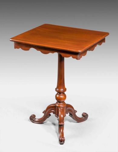 Mid 19th Century  Mahogany Occasional Table