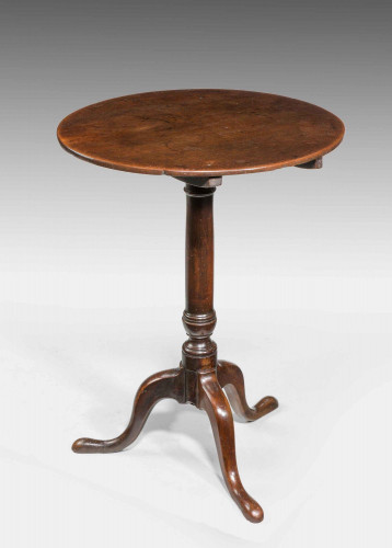 George III Period Mahogany Tripod Table