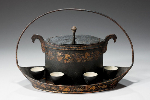 Early 19th Century Toleware Egg boiler