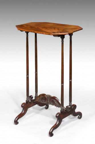 George III Period End Table