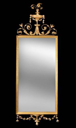 Late 18th Century Giltwood Mirror