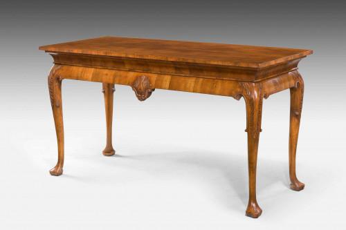 George I Design Walnut Centre Table.