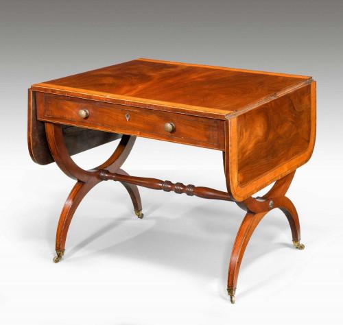 George III Period Mahogany Sofa Table