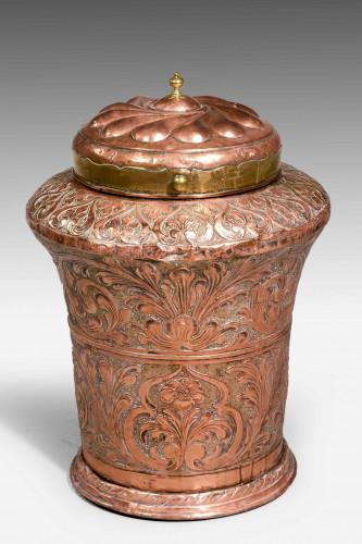 Mid-19th Century Eastern Lidded Vase