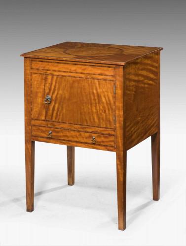 19th Century Satinwood Cupboard