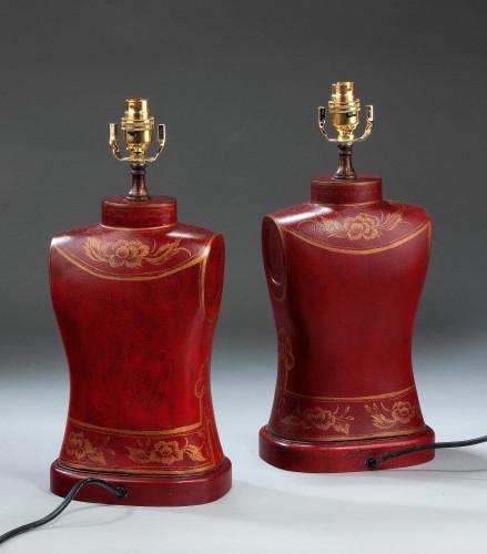 Pair of Torso Shaped Lamps