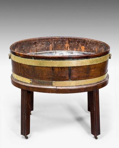 George III Period Oval Wine Cooler