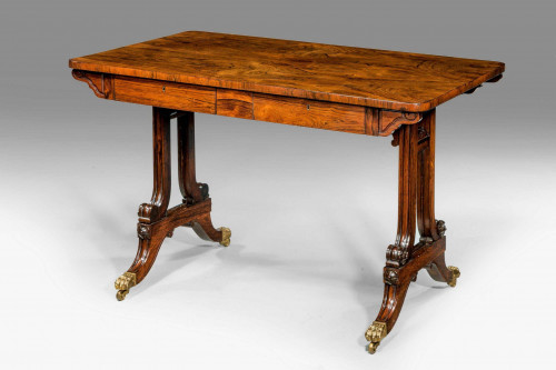 Regency Period Rosewood Centre Standing Table