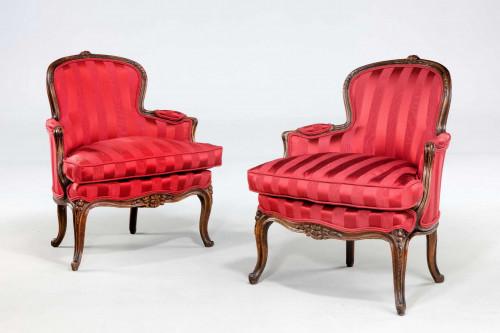 Pair of 19th Century Fauteuils