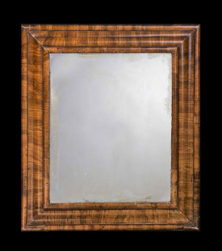 18th Century Laburnum Cushion Mirror