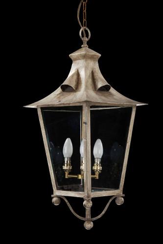 Early 20th Century Four Pane Lantern