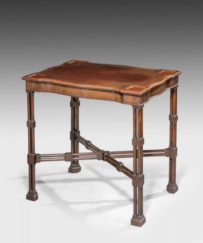 Late 19th Century Mahogany Writing Table