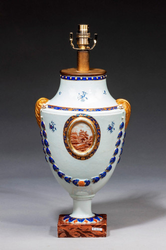 Late 18th Century Neoclassical Vase Lamp