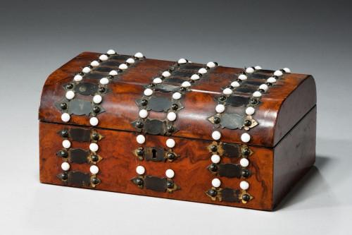 19th Century Walnut Box