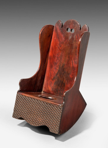 A Late George III Period Child's Potty Rocking Chair