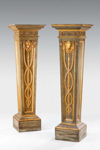 Pair of George III Period Columns