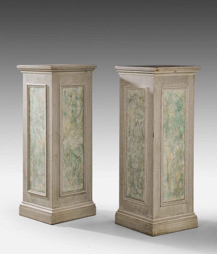 A Pair of Large Square Section Columns