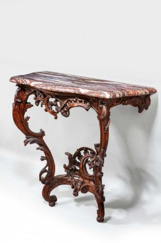 Mid 18th Century Oak Pier Table