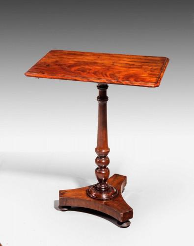 Regency Period Mahogany Tilt Top Table