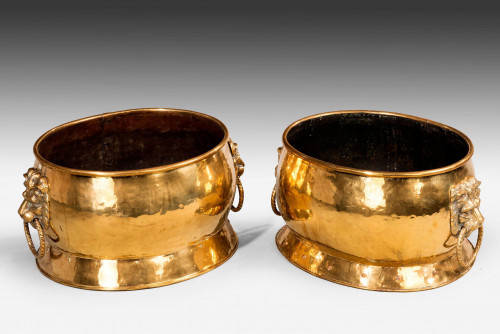 Pair of Late 19th Century Wine Coolers
