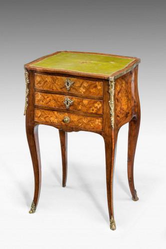 A Late 19th Century Kingwood Three Drawer Night Table