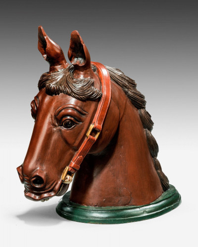 An Early 20th Century Horse Head Mount