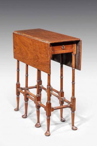 "George III Style Mahogany ""Spider-leg"" Table."