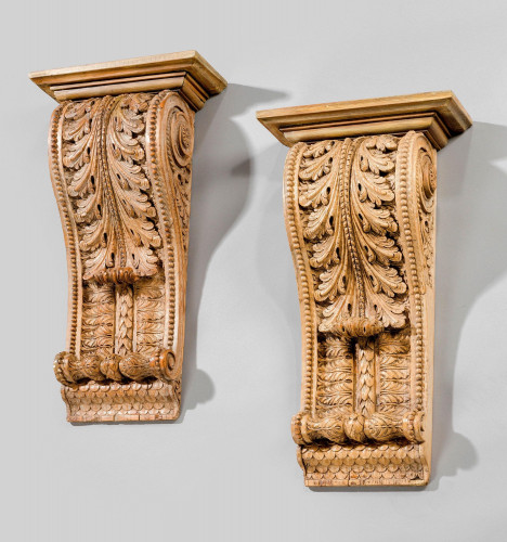 Pair of Early 19th Century Brackets