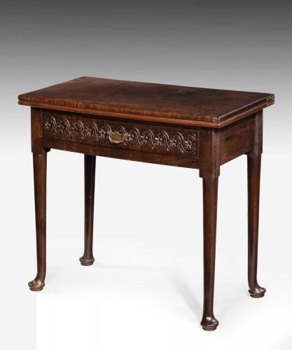 Mid 18th Century Mahogany Tea Table