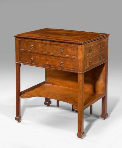 George III Period Gentleman's Dressing Table