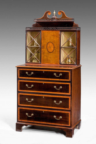 Pair of George III Period Pier Cabinets