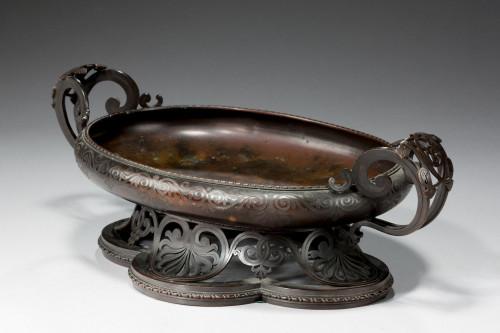 19th Century Bronze Bowl