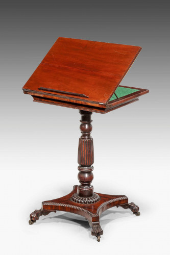 Regency Period Reading and Writing Table.