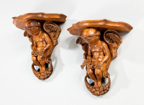 Pair of 19th Century Brackets
