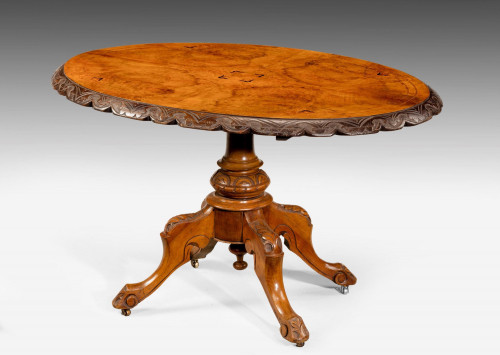Mid 19th Century Walnut Table