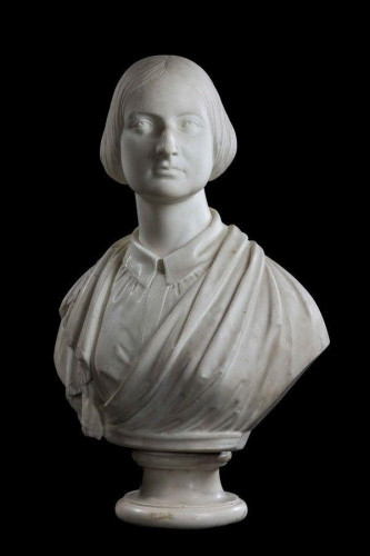 Mid 19th Century  Bust of a Young Female