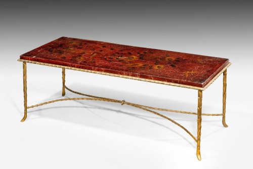 19th Century Gilt Bronze Low Table Made In Paris
