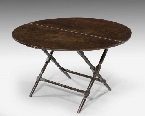19th Century Mahogany Coaching Table by Thornton Herne