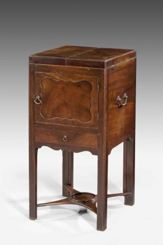 Chippendale Period Mahogany Night Cupboard