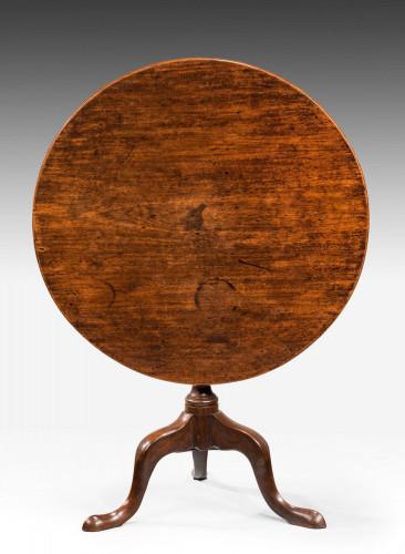 Late 18th Century Mahogany Tilt Table