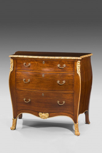Late 19th Century Bombe Commode