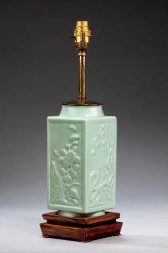 Single Celadon Green Lamp